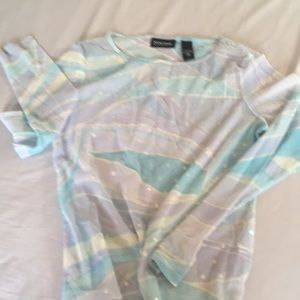 New York & Company see through Blouse.